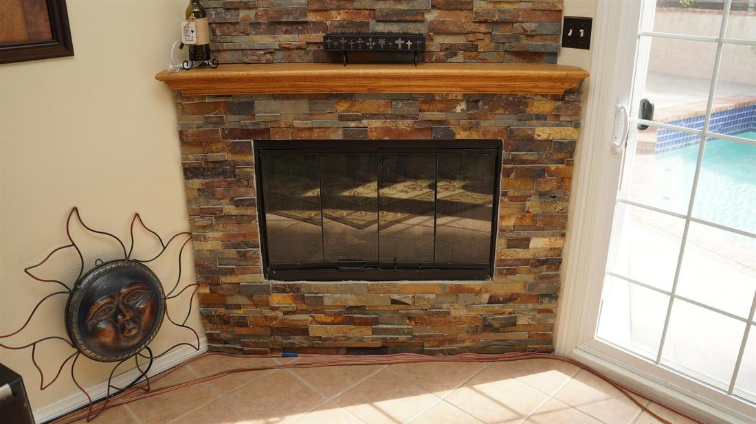 27415 Elder View Drive, Valencia, CA 91354 - Fireplace