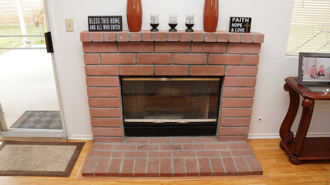 1554 Bluebell Street, Lancaster, CA 93535 - Family Room Fireplace